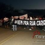 """Movimento """"Vem pra Rua Cariri"""" em Taperoá reúne muitas cidades vizinhas"""