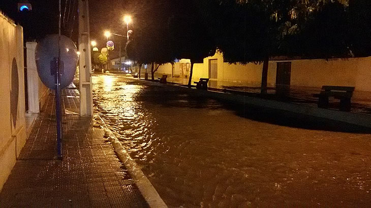 Chuva volta a cair em Taperoá