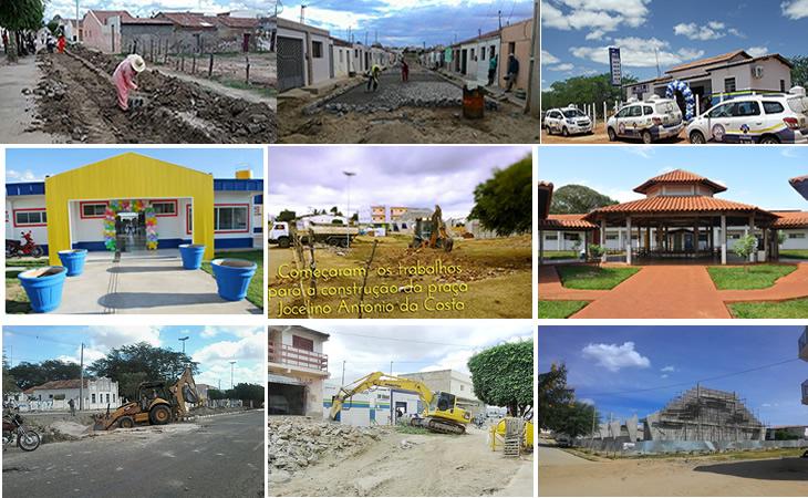 Governo municipal transforma taperoá num canteiro de obras