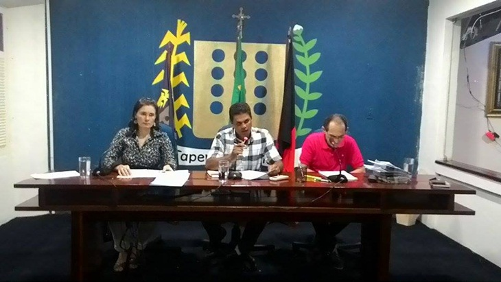 Aumento do número de vereadores teve a primeira aprovação na Câmara Municipal de Taperoá