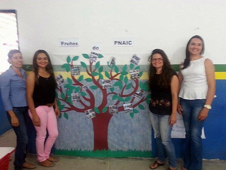 Formação – Pacto Nacional pela Alfabetização na Idade Certa, foi realizado na escola Pedro de Farias.
