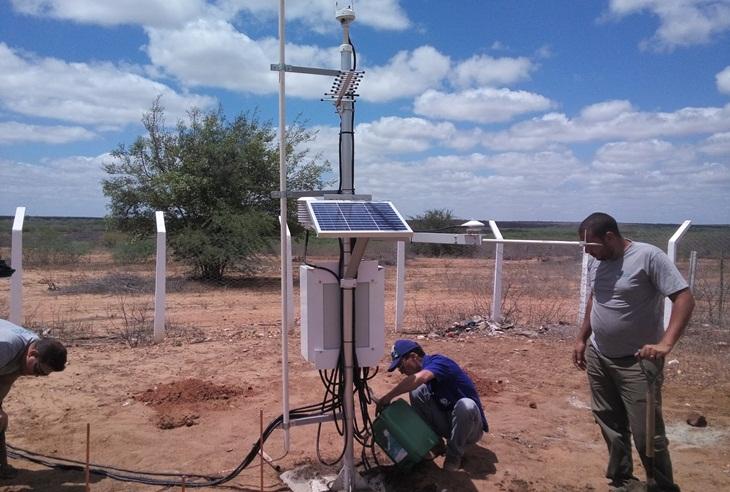 Taperoá terá estação de monitoramento de coletas de dados Agro Meteorológicos