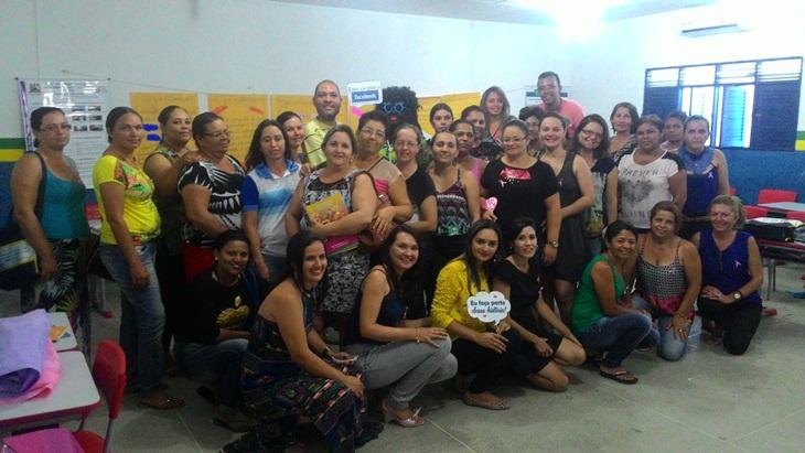 O quarto enconcontro, PNAIC, foi realizado na escola Pedro de Farias.