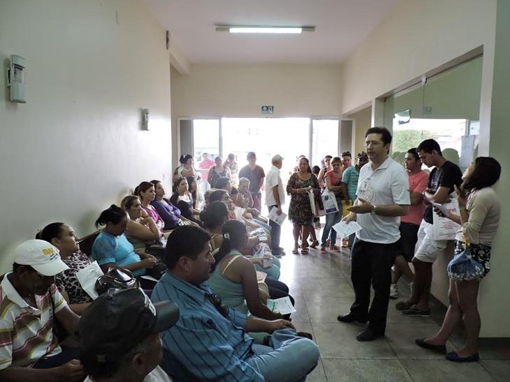 Pacientes do Hospital Geral de Taperoá  recebem orientações sobre AIDS