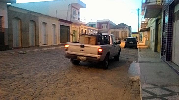 Apóssolicitação do vereador Antonio Vicente, fumacê circulará HOJE em Taperoá