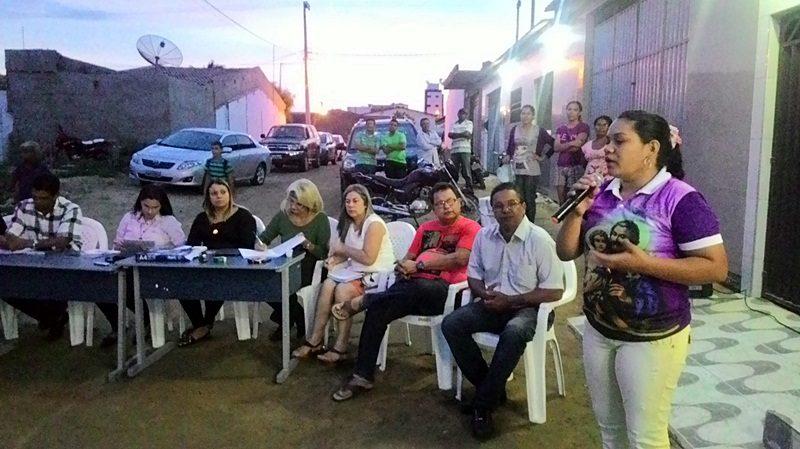 Câmara Municipal de Taperoá realizou sessão itinerante no canal do Bairro São José.