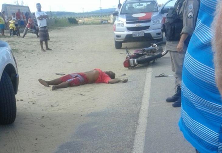 Taperoá: Mais uma vitima fatal em acidente de moto