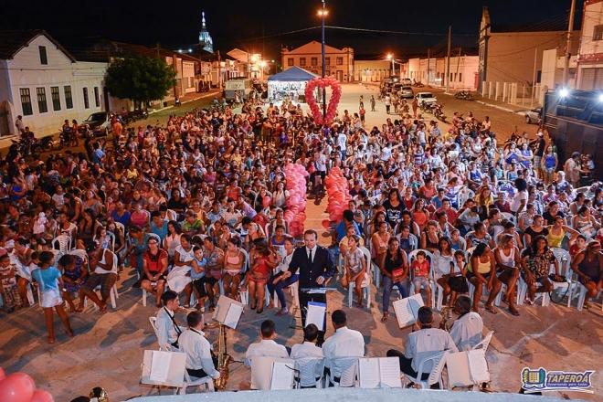 Prefeitura de Taperoá realiza festa do dia das mães