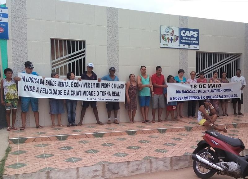Taperoá: Caps realiza semana com atividades pela luta antimanicomial
