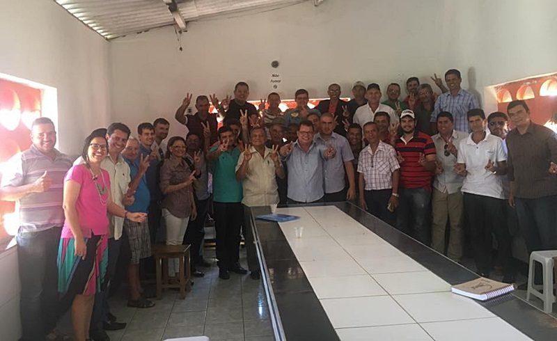 Jurandi garante apoio do vice-prefeito, 4 vereadores e vários líderes a sua reeleição