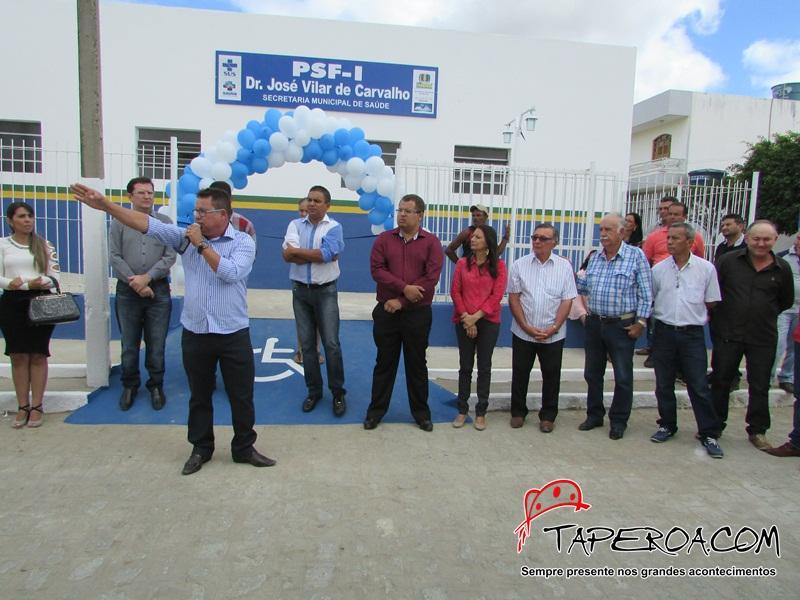 Prefeitura inaugura Unidade Básica de Saúde em Taperoá