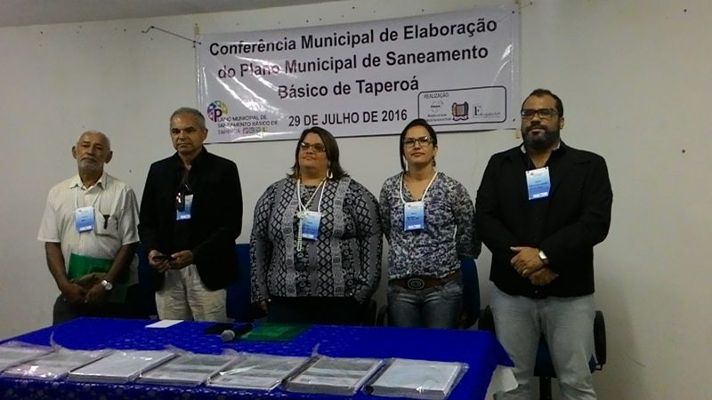 Prefeitura de Taperoá realiza Conferência sobre Plano Municipal de Saneamento Básico