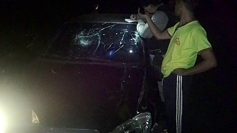 Animal na pista causa mais um acidente, em Taperoá.