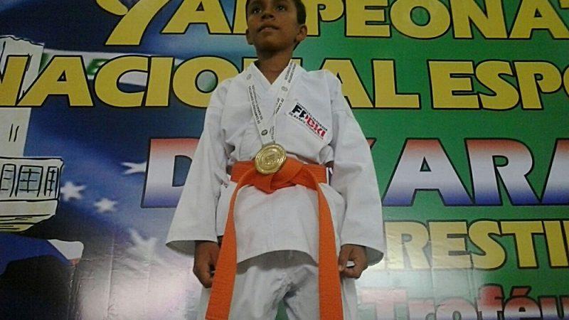 Orgulho de Taperoá: Atleta taperoaense se consagra campeão brasileiro de karatê