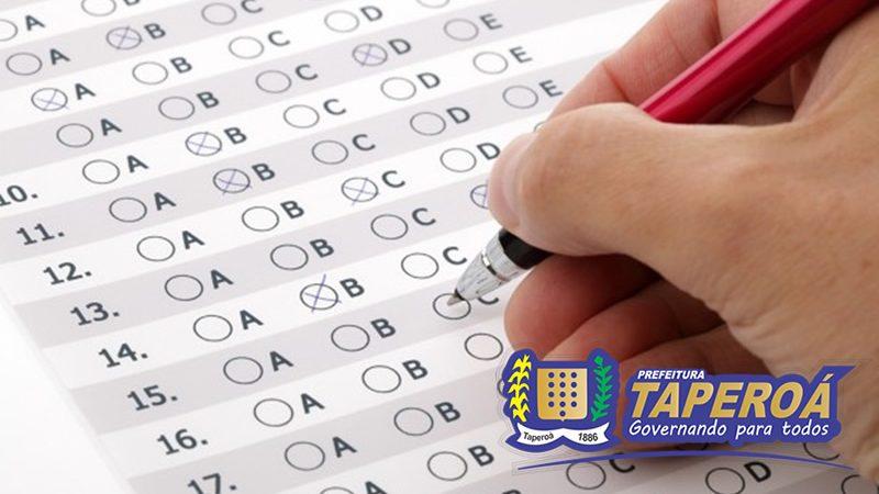Prefeitura de Taperoá abre inscrições para concurso público e processo seletivo