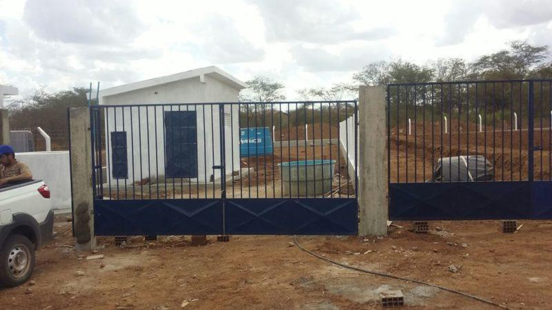 Mais uma usina de dessalinização esta em pleno andamento e beneficiará comunidade da Quixaba