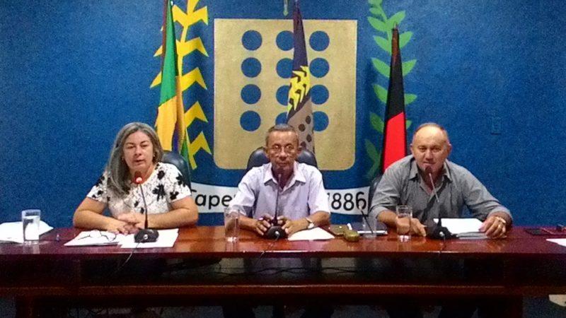 Vereadores aprovam vários requerimentos em primeira sessão ordinária do ano