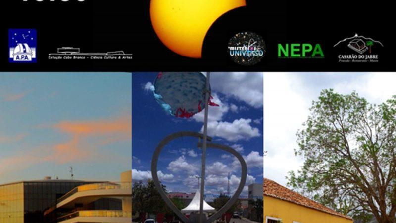 Eclipse Solar no Domingo de Carnaval; observação pública em Taperoá-PB