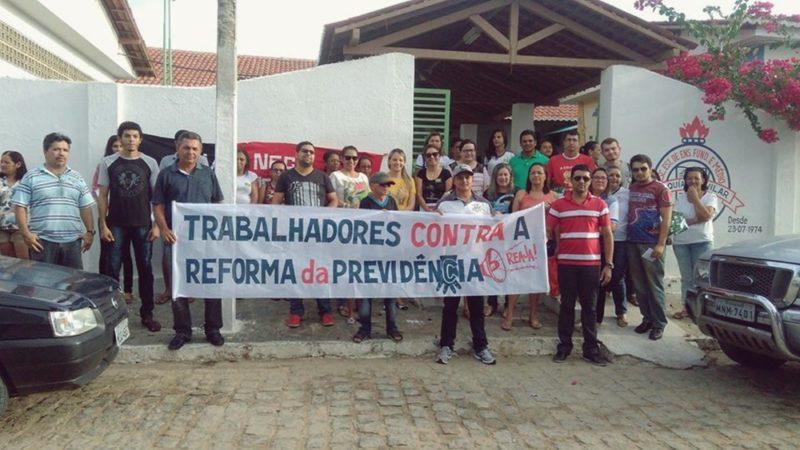 Movimento Contra a Reforma da Previdência em Taperoá