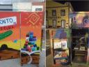 Oficina de grafite foi ofertada no I Festival Espaço da Arte