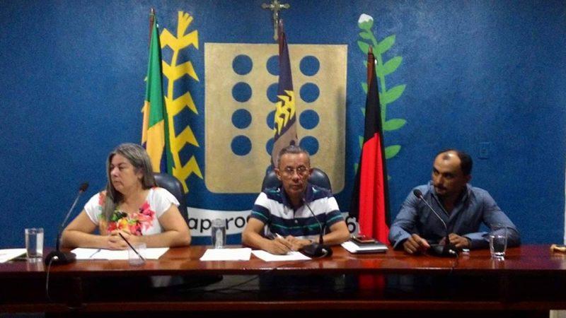 Água e Infraestrutura foram temas discutidos na sessão desta sexta feira