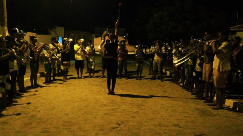 Banda Marcial Maestro José Fernandes : Ensaio aberto para apresentação no 5º ERFABAM