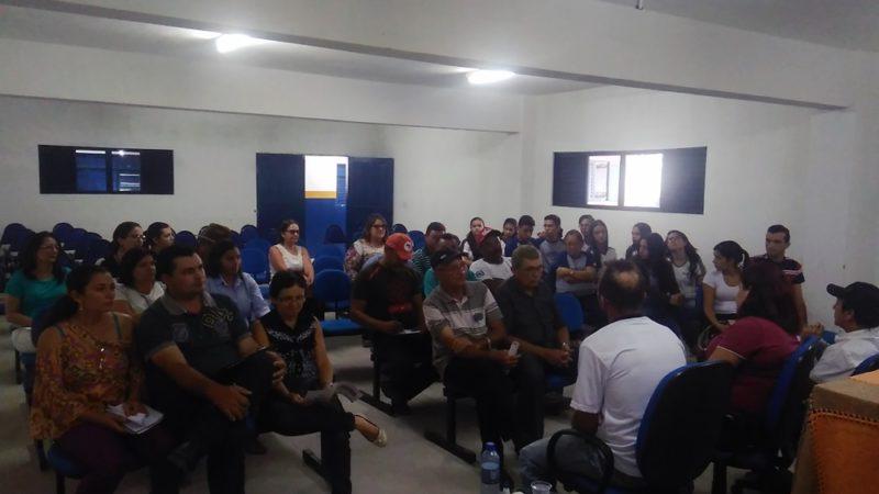 Preparatória para o Orçamento Democrático Estadual no Polo UAB em Taperoá
