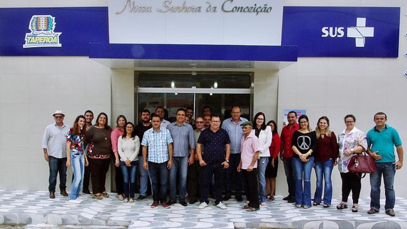 Prefeitos se reúnem em Taperoá para discutir e votar a criação do plano intermunicipal de saúde