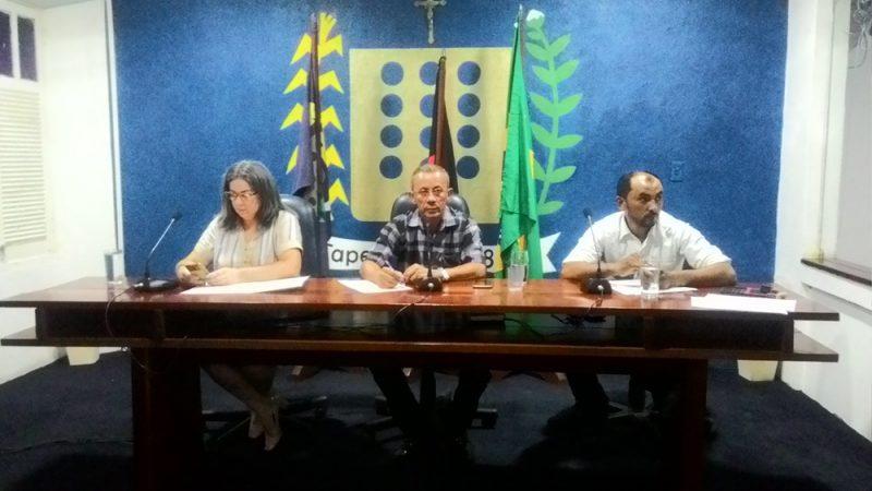 Câmara de Taperoá realizou nesta sexta-feira (16) a quarta sessão ordinária.