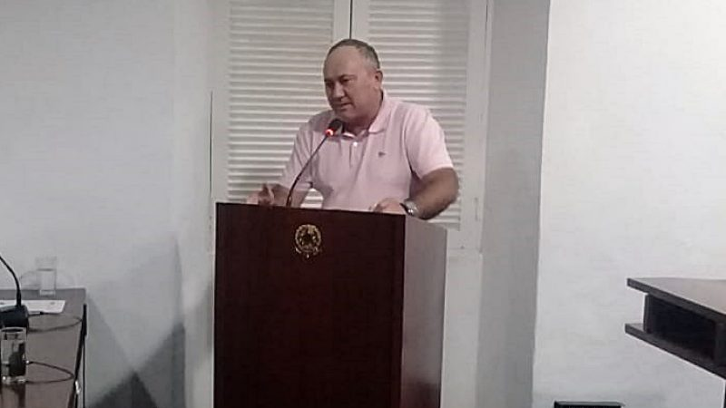 Vereador reforça a importância de Câmeras de segurança em Taperoá