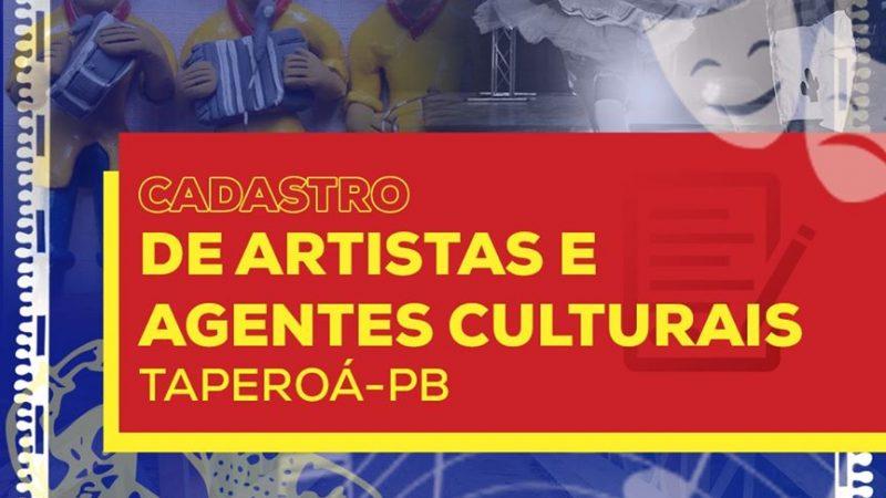 Secretaria Municipal da Cultura (SECULT) cria formulário para cadastro de artistas e agentes culturais.