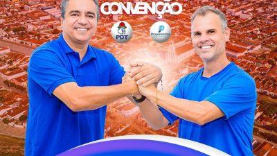Convenção que homologará candidaturas de Júnior de Preto e Ariano acontecerá nesta quarta-feira