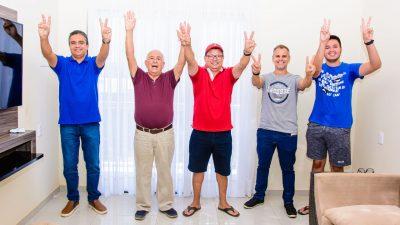 Pré-candidato a prefeito Júnior de Preto define seu companheiro de chapa e grupo político segue unido
